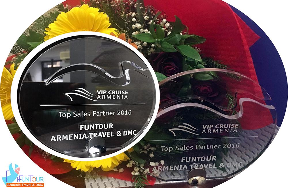 Funtour Armenia տուրիստական ընկերությունը «ՎԱՃԱՌՔԻ ԼԱՎԱԳՈՒՅՆ ԳՈՐԾԸՆԿԵՐ 2016» լավագույնների շարքում!